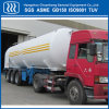 Oxygen Nitrogen Tanker LNG Semi Trailer with ASME GB