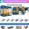 Hot Sale Hydraulic Pressure Cement Brick Machine From China