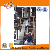 ABA Co-Extrusion HDPE LDPE Carrier Bag Film Blowing Machine