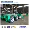 China Flexible Crane Lowdeck Cargo Trailer 50t