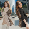 2015 Fashion Chiffon Sexy Leopard Women Leisure Suits (50021)