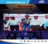 Shenzhen P20mm Dancing Floor Indoor Mesh LED Display Screen with ISO9001