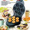 Hot Sale Black Donuts Electric Baking Pan