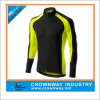 Cheap Men Long Sleeve Cycling Jersey with 3 Rear Pockets