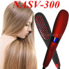 2016 Hottest Tourmaline Electric 3D Digital Control Ionic Comb LCD Ceramic Brush Hair Straightener Nasv Hair Straightening Irons