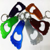 Blank Promotional Items, Aluminum Bottle Opener Keychain, Opener Keyring Die Casting Design