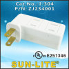 Receptacle Adapter NEMA 1-15r; I-304