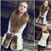 New Arrival Women′s Winter Real Rabbit Fur Vest (Qy-V04)