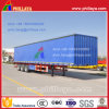 Tri-Axle Light Cargo Transporting Curtain Side Semi Trailer