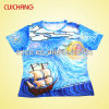 Wholesale Polyester Heat Transfer Sublimation Fashional Good Quality Men′s T-Shirt Ts-040