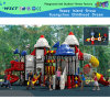 High Quality Plastic Outdoor Playground for Kindergarten (HD-301)
