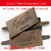 Bag Hardware Label Metal Logo Label for Handbag Shoe Clothing