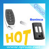 Qinuo Compatible with Beninca 4 Button RF Remote Transmitter Qn-RS039X