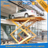 Hydraulic Car Stationary Scissor Lift Platform / Car Lift Table