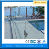Powder Coated Aluminum Frameless Glass Railing Staircase