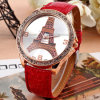 Eiffel Tower Rose Gold Analog Quartz Sport Watch (KD-HT01)