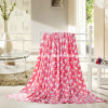 Polyester Printed or Plain Dyed Coral Fleece Blanket