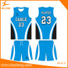 Sublimation Printing Mesh Shirt Girls Youth Reversible Basketball Uniform