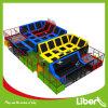Wonderful Indoor Trampoline Park with Aritificial Grass Floor