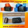 Tsa Seatbelt Luggage Strap with Security Code