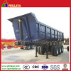 U Shaped Box Hydraulic Tipping Truck Semi Dump Trailer