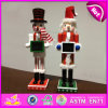 2015 Wooden Nutcracker Stand for Decoration, Wooden Nutcracker for Home Decoration, Christmas Nutcracker Statue Decoration W02A077