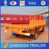 4 Axle Utility Full Trailer Cargo Trailer for Hot Sale