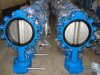 Table D/E ANSI 150 Ductile Iron Lug Type Flange Butterfly Valve High Quality