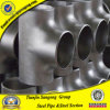 ANSI B16.9 304 316 4in Stainless Steel Reducing Tee
