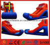 Hot Sale Inflatable Orange&Blue Water Slide for Water Games