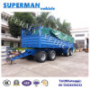 4 Axle Full Cargo Transport Turntable Semi Truck Trailer