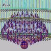 Hotel Project K9 Crystal Chandelier for Decoration