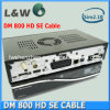 Dreambox 800HD Se-Cdigital Enigma2 Linux Cable Receiver Dm800HD Se with DVB-C Tuner with SIM 2.10 Card
