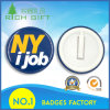 The Most Popular Plastic Badge with Ny Printed in Reflective Blue