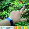 Keyless Lockers ICODE SLIX2 smart woven RFID wristband for event solution