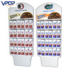 Coffee Shop Retail Sale Cardboard Coffee Bag Display Rack
