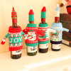Novelty Items Christmas Santa Hat Bottle Toppers Party Decoration