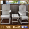 Public Furniture Polystyrene Wood Table and Chairs for Rest