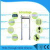 0-255 Sensitivity 6 Zones Door Frame Metal Detector Waterproof for Outdoor Use