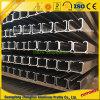 Extruded Aluminium Guide Rail for Curtain Track with Aluminium Extrusions