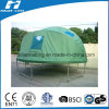 Green Color Trampoline Tent with Windows