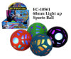 Hot Funny 60mm Light up Sports Ball Toy
