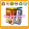 Airtight Coffee Tin Box with Food Grade, Rectangular Food Tin