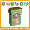 Rectangular Tea Box for Food Tin Container, Tea Tin Box