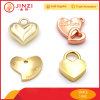 Eco-Friendly Zinc Alloy Heart Shape Charm Pendant for Jewelry
