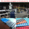 PVC Wave Corrugated Roofing Sheet Extrusion Machine