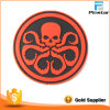Soft Rubber Customized Hydra PVC Patch Hook & Loop Back