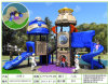 (Featured!) Kaiqi High Quality Medium Sized Children's Playground with Slides (XBSN0512E)