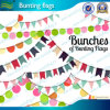 Decorative Wedding Party String Flags (M-NF11F06023)