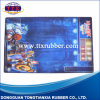 Good Quality Rubber Backed Printing Game Mat